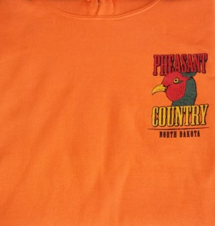 ND Pheasant Country Orange Hoody L